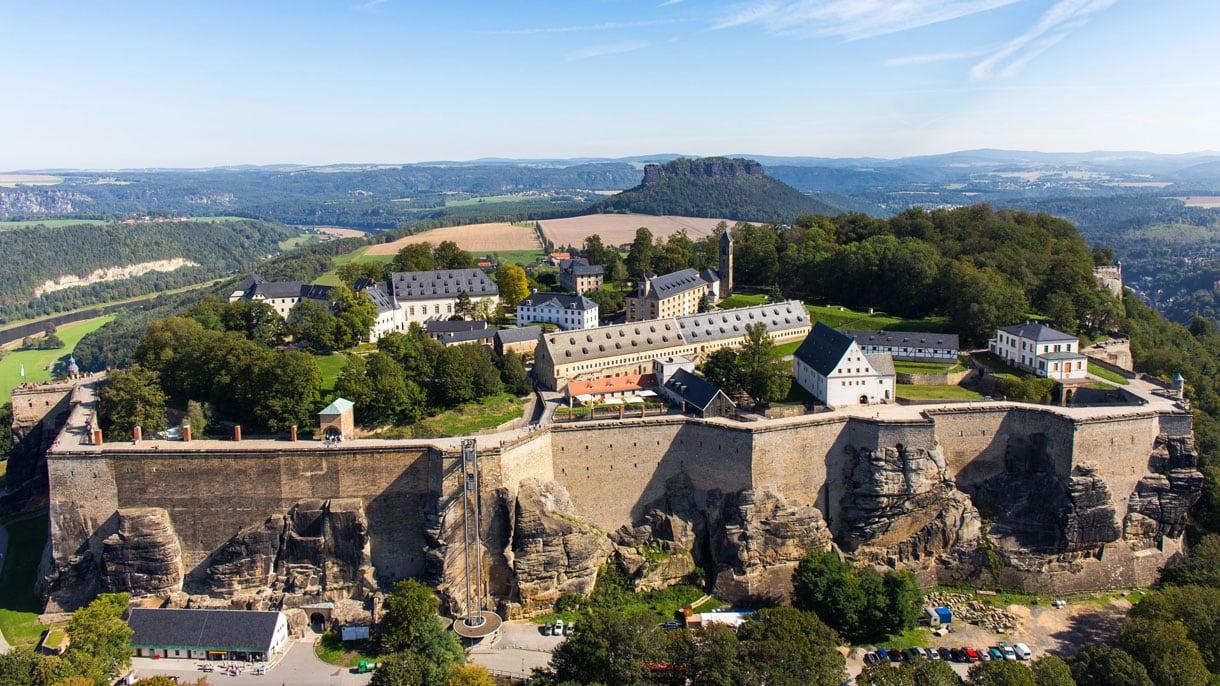 "Castle ""Festung Königsstein"""
