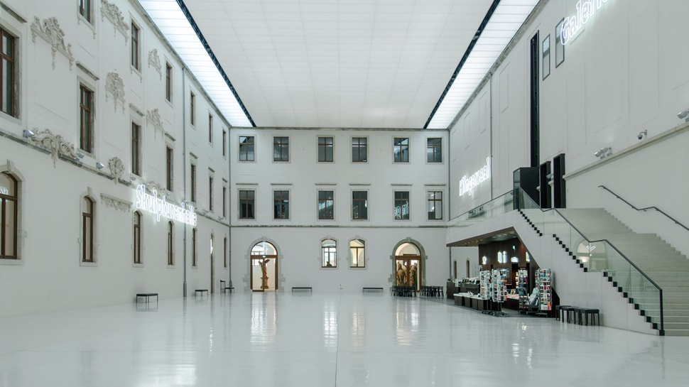 Atrium of the Albertinum
