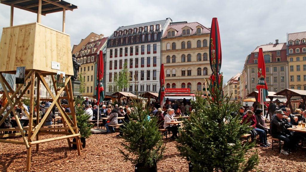 Waldmarkt Neumarkt Dresden