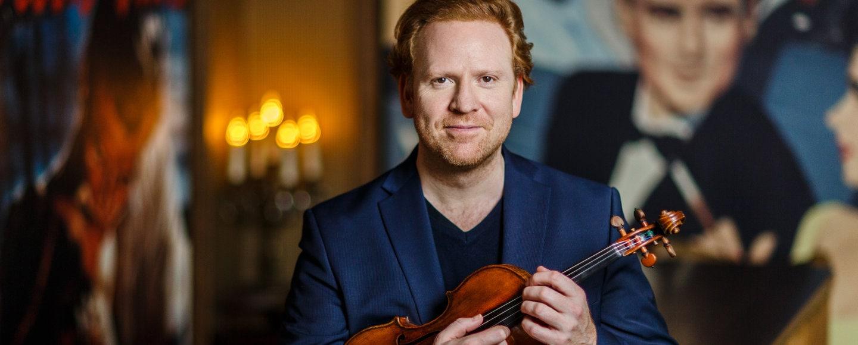 Daniel Hope - der Stargeiger im Interview mit dem Dresden Magazin