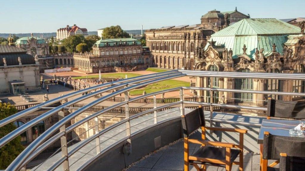 Dachterrasse Felix Dresden