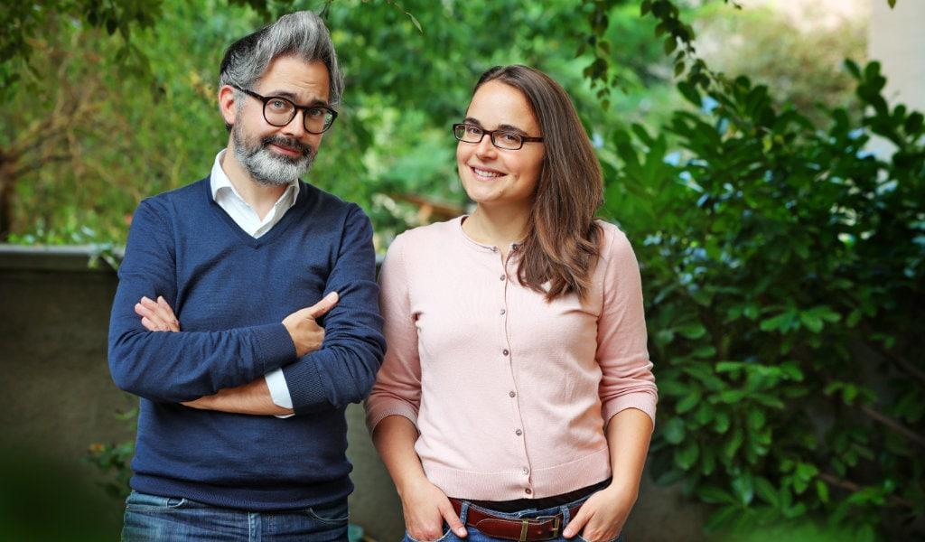 Franziska Lange und Amac Garbe